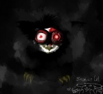 alien ambiguous_gender claws creepy feral fur furby glowing glowing_mouth gore grey_theme looking_at_viewer mammal nightmare_fuel pokemonfromhell red_eyes solo standing   Rating: Questionable  Score: 1  User: ThatOnePorcupine  Date: December 03, 2014