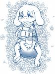 anthro asriel_dreemurr blush clothing crotch cute diaper feces fillyscoots42 flower monster paws petals plant rubbing scat soiling sweater undertale video_games  Rating: Questionable Score: 2 User: Mur Date: March 28, 2016
