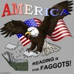ambiguous_gender american_flag book eagle english_text feral politics reaction_image satire text united_states_of_america unknown_artist   Rating: Safe  Score: 8  User: Munkelzahn  Date: August 03, 2013