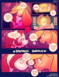 ! 2014 applejack_(mlp) blonde_hair cherry_jubilee_(mlp) comic cowboy_hat creamydonuts dialogue duo english_text equine eyes_closed female friendship_is_magic fur green_eyes hair half-closed_eyes hat hi_res horse mammal my_little_pony open_mouth orange_fur pony text   Rating: Questionable  Score: 2  User: lemongrab  Date: March 27, 2014