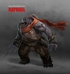 ancorgil anthro biceps chain claws male muscles raphael reptile sai scalie scarf teenage_mutant_ninja_turtles turtle vein   Rating: Safe  Score: 5  User: Acolyte  Date: February 19, 2014