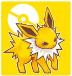 blush cute eeveelution jolteon nintendo pokéball pokémon rag. solo video_games   Rating: Safe  Score: 2  User: Luminocity  Date: April 22, 2014