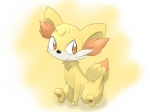"""blush fennekin feral nintendo paws pokémon simple_background sitting solo video_games しろくろいの  Rating: Safe Score: 0 User: Raria Date: July 06, 2015"""""""