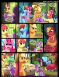 2013 apple_bloom_(mlp) applejack_(mlp) big_macintosh_(mlp) blonde_hair blue_fur blush comic cowboy_hat cub cutie_mark dialogue dragon earth_pony english_text equine female feral freckles friendship_is_magic fur green_eyes group hair hat horse kitsune_youkai mammal multicolored_hair my_little_pony old pegasus pink_fur pink_hair pinkie_pie_(mlp) pony purple_eyes rainbow_dash_(mlp) rainbow_hair scalie spike_(mlp) text wings yoke young  Rating: Safe Score: 18 User: Falord Date: March 14, 2013