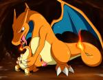 2014 blush cave charizard charmander claws cum cum_in_mouth cum_inside dancingchar dragon duo fellatio female feral feral_on_feral fire fire_breathing hi_res male male/female nintendo oral penis pokémon pussy scalie sex size_difference toe_claws tongue tongue_out video_games wings   Rating: Explicit  Score: 13  User: RioluKid  Date: September 03, 2014
