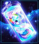 2015 bottle cutie_mark equine female friendship_is_magic hair koveliana mammal multicolored_hair my_little_pony pegasus purple_eyes rainbow_dash_(mlp) rainbow_hair solo sparkles wings  Rating: Safe Score: 5 User: 2DUK Date: November 30, 2015