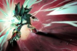 anthro chaos_control chaos_emerald eulipotyphlan hedgehog hi_res looking_back male mammal mri shadow_the_hedgehog solo sonic_(series) wallpaper widescreen