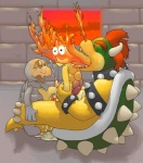 anal argon_vile bowser castle cum dry_bones dusk fire group hair inside koopa male male/male mario_bros messy nintendo penis red_hair scalie size_difference undead video_games   Rating: Explicit  Score: 8  User: Zest  Date: April 06, 2015