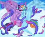 2015 anthro anthrofied big_breasts breasts cheezayballz cloud cloudscape duo equine eye_contact feathered_wings feathers female female/female french_kissing friendship_is_magic hair hand_holding hooves horn kissing long_hair mammal multicolored_hair my_little_pony on_cloud outside pegasus penetration purple_eyes pussy rainbow_dash_(mlp) rainbow_hair restrained sky spread_legs spreading tentacles tongue twilight_sparkle_(mlp) vaginal vaginal_penetration winged_unicorn wings  Rating: Explicit Score: 17 User: lemongrab Date: May 19, 2015