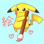 1:1 <3 blue_background nintendo pikachu pikatiu pokémon pokémon_(species) simple_background smile video_gamesRating: SafeScore: 0User: VictiniLovesMewDate: August 17, 2019