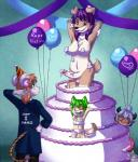 balloon balls breasts cake cake_stripper canine caramel-kitteh cat dickgirl dog erection feline female food group imminent_rape intersex male mammal nude party penis rat rodent  Rating: Explicit Score: 11 User: paulapig Date: October 11, 2015