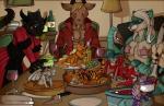 anthro ashtalon caprine dinosaur dragon eltigro feast feline female food food_play goat group holidays keytallamarazen macro male mammal mattocat micro obi-nae pilli10 pyro_pygmy raccoon ram ramthedragon tassar thanksgiving tiger vore   Rating: Questionable  Score: 0  User: Ashtalon  Date: December 01, 2014