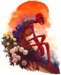 bone digital_media_(artwork) flower lagomorph mammal plant rabbit seriousmccoy skeleton solo surreal tree  Rating: Safe Score: 6 User: tartcore Date: July 30, 2015