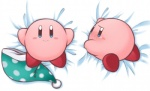 alien bed_sheet blush dakimakura_design kirby kirby_(series) looking_at_viewer looking_back multiple_poses nintendo not_furry pose shiohachi smile solo tears video_games  Rating: Safe Score: 4 User: Neitsuke Date: August 31, 2015