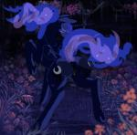 2015 anus blue_hair blush butt clearing clitoris equine eyes_closed female flower forest friendship_is_magic ghost-town grass hair horn horse mammal mane my_little_pony night one_eye_closed plant pony presenting princess_luna_(mlp) pussy solo star tree vines winged_unicorn wings wink  Rating: Explicit Score: 5 User: ghost-town Date: September 02, 2015