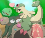 """<3 breloom cum cum_inside duo female garbodor male male/female nintendo on_top penis pictographics pokémon pussy sex sweat type vaginal video_games  Rating: Explicit Score: 2 User: slyroon Date: August 10, 2014"""""""