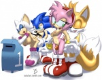 2012 all_fours amy_rose anthro bat big_breasts blue_body blue_eyes breasts canine clothing cum doggystyle female footwear fox fox_tail from_behind gloves green_eyes group hair hairband hedgehog hi_res interspecies is_(artist) mailbox male male/female mammal miles_prower multiple_tails nipples nude penetration penis pink_body pink_hair plain_background pussy rouge_the_bat sex shoes sonic_(series) sonic_the_hedgehog standing thigh_sex white_background wings  Rating: Explicit Score: 27 User: Robinebra Date: January 31, 2013""