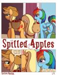 2014 anus applejack_(mlp) blue_feathers blue_fur comic dialogue digital_media_(artwork) duo earth_pony english_text equine feathers female feral friendship_is_magic fur hair hi_res horse mammal multicolored_hair my_little_pony pegasus pony pussy rainbow_dash_(mlp) rainbow_fur rainbow_hair ratofdrawn text wings  Rating: Explicit Score: 36 User: Robinebra Date: August 26, 2014