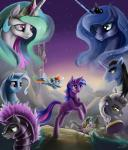 2014 absurd_res dragon equine fan_character female feral friendship_is_magic group hi_res horn male mammal my_little_pony pegasus princess_celestia_(mlp) princess_luna_(mlp) rainbow_dash_(mlp) royal_guard_(mlp) scalie silfoe spike_(mlp) trixie_(mlp) twilight_sparkle_(mlp) unicorn winged_unicorn wings  Rating: Safe Score: 12 User: Robinebra Date: December 20, 2014