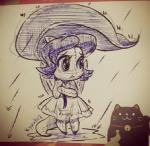 """clothed clothing dragon hair kyuukia leaf_umbrella neopets plushie raining scalie shoyru sketch unknown_artist  Rating: Safe Score: 2 User: AnonymousNeopian Date: March 30, 2015"""""""