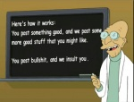 2010 bald chalk chalkboard comic_sans english_text eyewear futurama glasses hubert_j._farnsworth human humor lab_coat lol_comments male mammal not_furry public_service_announcement solo text the_truth unknown_artist  Rating: Safe Score: 209 User: no_fun Date: August 20, 2010