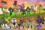 anthro balls beach beak black_penis blue_balls blush bottomless briefs canine clothed clothing collar decidueye ditto dragonite erection exeggutor eyewear female fox fur gigalith glasses grey_balls group hamster handstand humanoid_penis kommo-o leash lucario lurantis lycanroc male mammal mega_evolution mega_lucario midnight_lycanroc moon_(pokémon) muk nebby nintendo nishi nude oxnard penis penis_size_difference pokemon_sun_and_moon pokémon primarina pussy rodent salazzle seaside size_difference slightly_chubby snivy solgaleo standing underwear video_games voluptuous weavile white_balls wings
