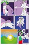 anal anthro anthrofied bedroom blue_eyes breasts clothed clothing comic cum cum_in_ass cum_inside cum_leaking_from_anus dekomaru dragon equine eyes_closed facial_hair female friendship_is_magic fur goatee green_eyes grey_nipples group hair horn male male/female mammal multicolored_hair my_little_pony nipples nude penis pink_hair purple_scales pussy pussy_juice rarity_(mlp) scales spike_(mlp) sun sweetie_belle_(mlp) thehotroom two_tone_hair unicorn white_fur  Rating: Explicit Score: 3 User: Googlipod Date: November 07, 2015