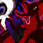 abstract_background absurd_res anthro arisu_arctasian black_fur breasts camel_toe canine claws cobra dickgirl dog duo female forked_tongue fox fur hemipenes hi_res huge_penis husky intersex kizzneth knot long_tongue looking_at_viewer mammal masturbation messy multi_cock naga penis purple_penis pussy raised_tail red_scales red_theme reptile scalie snake snake_hood solo_focus tongue tongue_out unusual_penis white_fur yellow_eyes   Rating: Explicit  Score: 5  User: Aaronyata  Date: June 05, 2014