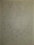 blaziken breasts comic crossover digimon duo_focus female group japanese_text kewon monochrome nintendo pencil_(artwork) pokémon renamon text traditional_media_(artwork) video_games zoroark  Rating: Explicit Score: -1 User: Well001 Date: December 24, 2015