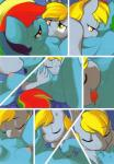 ajin anthro anthrofied anus blonde_hair blue_body breasts comic cunnilingus derpy_hooves_(mlp) duo equine eyes_closed female female/female female_pov fingering first_person_view friendship_is_magic grey_body hair horse kissing looking_down mammal multi_tone_hair my_little_pony nipples open_mouth oral pony pussy rainbow_dash_(mlp) sex smile tongue tongue_out vaginal wings   Rating: Explicit  Score: 16  User: EmoCat  Date: August 18, 2014