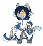 azzy blush cat clothing cosplay feline hoodie hook humor karichan622 lantern league_of_legends mammal solo thresh video_games  Rating: Safe Score: 1 User: AzureWotan Date: July 18, 2015