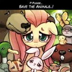 ! ... 2015 arthropod avian bear beaver bird blue_eyes brown_eyes brown_fur butterfly crying cute duck english_text equine feathers female feral fluttershy_(mlp) forest friendship_is_magic fur grass green_feathers group horse insect looking_at_viewer lumineko mammal my_little_pony pink_fur pony raccoon rodent sad sky squirrel tears text tree yellow_feathers yellow_fur  Rating: Safe Score: 16 User: JacksonJone Date: August 08, 2015