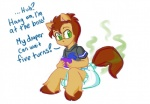 clothing cub dialogue diaper equine feces green_eyes horse male mammal one-up_(rfswitched) pony rfswitched scat smelly solo video_games young  Rating: Questionable Score: -1 User: letmerok Date: July 08, 2013""