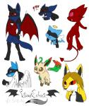 2014 :3 angel black_eyes black_fur blue_fur breasts brown_eyes brown_hair canine chibi claws clothing cute demon digitigrade eeveelution fan_character fangs female feral fur group hair hindpaw hybrid leafeon legendary_pokémon looking_at_viewer looking_back lucario male mammal mew nintendo nude open_mouth pawpads paws pink_eyes pokémon rear_view red_eyes riolu sableye short_hair simple_background spikes standing succubus tongue vibrantechoes video_games white_background wings yellow_fur  Rating: Safe Score: 1 User: Blackphantom770 Date: June 06, 2014