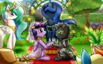 2014 applejack_(mlp) changeling earth_pony equine female feral friendship_is_magic group horn horse male mammal my_little_pony pony princess_celestia_(mlp) princess_luna_(mlp) twilight_sparkle_(mlp) vavacung wedding winged_unicorn wings  Rating: Safe Score: 11 User: Robinebra Date: June 21, 2014
