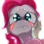 behind-space blush crying duo earth_pony equine female feral friendship_is_magic horse human mammal my_little_pony pinkie_pie_(mlp) pony sad tears   Rating: Safe  Score: 6  User: Robinebra  Date: April 14, 2015