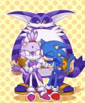 big_the_cat blaze_the_cat cat feline group hedgehog mammal sega sonic_(series) sonic_the_hedgehog   Rating: Safe  Score: 2  User: RadDudesman  Date: January 25, 2014