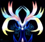 ambiguous_gender blue_body blue_eyes haychel legendary_pokémon nintendo pokémon solo video_games xerneas   Rating: Safe  Score: 5  User: slyroon  Date: February 10, 2013