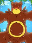 barazoku bear blush brown_fur chubby cloud featureless_crotch frown fur imminent_sex looking_at_viewer male mammal muscles nintendo pokémon sky solo submissive_pov sweat ursaring video_games 炙りサーモン_(artist)  Rating: Questionable Score: 8 User: DeltaFlame Date: December 09, 2014