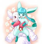 blue_eyes blue_fur blush canine censored cute duo eeveelution female female/female feral fingering flower_bed fur glaceon happy mammal nintendo open_mouth pokémon pussy red_eyes spread_pussy spreading unknown_artist vaginal vaginal_fingering video_games white_fur zangoose   Rating: Explicit  Score: 13  User: Hydr0  Date: December 24, 2014