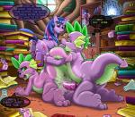 2014 <3 anus book condom crossgender cum cum_in_pussy cum_inside cutie_mark detailed_background dragon earth_pony english_text equine erection female feral friendship_is_magic group horn horse kitsune_youkai male male/female mammal my_little_pony penetration penis pinkie_pie_(mlp) pony pussy safe_sex scalie selfcest sex spike_(mlp) square_crossover text twilight_sparkle_(mlp) unicorn vaginal vaginal_penetration wearing_condom  Rating: Explicit Score: 19 User: Robinebra Date: September 10, 2014