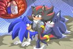 anal anal_penetration angelofhapiness anthro cum double_anal double_penetration group hi_res male male/male penetration penis sex shadow_the_hedgehog sonic_(series) sonic_the_hedgehog sonic_the_werehog werehog  Rating: Explicit Score: 4 User: Butterbutts Date: March 18, 2015""