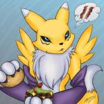 arthomas bacon burger digimon food renamon thinking video_games   Rating: Safe  Score: 5  User: NekoBot  Date: March 08, 2014