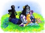 2012 applejack_(mlp) arthropod blue_fur butterfly earth_pony equine female feral flower friendship_is_magic fur group hair horn horse hug insect lobo_(dc_comic) male mammal multicolored_hair my_little_pony pegasus plant pony purple_eyes purple_fur purple_hair qnaman rainbow_dash_(mlp) rainbow_hair rarity_(mlp) red_eyes smile twilight_sparkle_(mlp) two_tone_hair unicorn wings  Rating: Safe Score: 3 User: Varker Date: November 10, 2012