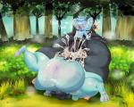 2017 big_penis cum cum_in_pussy cum_inflation cum_inside cum_overflow excessive_cum female inflation male male/female meshi-oshi nintendo orgasm_face overweight penis pokémon shinx size_difference vaginal video_games youngRating: ExplicitScore: 6User: UntamedDate: September 25, 2017