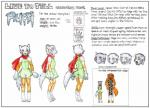 angry anthro asian_clothing bodily_fluids butt canid canine canis chinese_clothing chinese_dress clothing cub dress east_asian_clothing eye_markings female final_fantasy final_fantasy_unlimited green_clothing green_dress hi_res leg_warmers legwear mammal mariano markings model_sheet red_scarf ru_(final_fantasy_unlimited) sad scarf short square_enix stockings surprise tears traditional_media_(artwork) video_games wolf yellow_eyes young