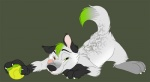 anthro ball canine cute heterochromia looking_at_viewer male mammal smile solo tabbiefox tongue vinny wolf  Rating: Safe Score: 15 User: [GER]ray Date: November 08, 2010