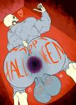 animated_skeleton anus backsack balls bent_over big_balls big_butt body_writing bodypaint bone butt gaping gaping_anus halloween holidays humanoid looking_back monstrous_humanoid mr_canvas muscular not_furry penis rear_view skeleton solo sweat thick_thighs undeadRating: ExplicitScore: 2User: FroggylishDate: November 07, 2017