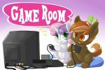 2015 button_mash_(mlp) crossover cub cute duo earth_pony english_text equine female feral friendship_is_magic hat horn horse male mammal my_little_pony pony pusspuss sweetie_belle_(mlp) television text unicorn video_games young  Rating: Safe Score: 12 User: Robinebra Date: June 10, 2015