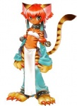 bell big_feet breasts breath_of_fire cat clothing collar costume cub feline female fur hair inner_ear_fluff katt_(breath_of_fire) loincloth mammal raised_tail red_hair small_breasts solo tiger unknown_artist video_games young  Rating: Safe Score: 0 User: Lxs371 Date: December 16, 2009